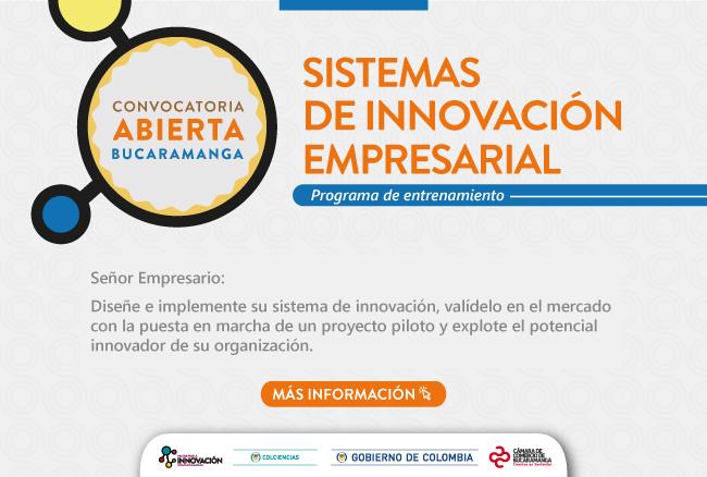 innovación - Programa Sistemas de Innovación