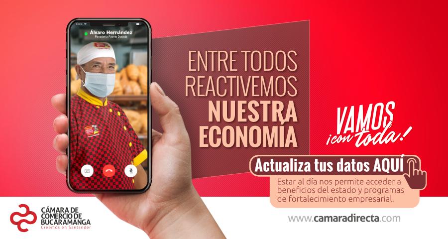 CONOZCA LOS CANALES DE ATENCIÓN DISPONIBLES PARA RENOVAR LA MATRÍCULA MERCANTIL ANTES DEL 3 DE JULIO