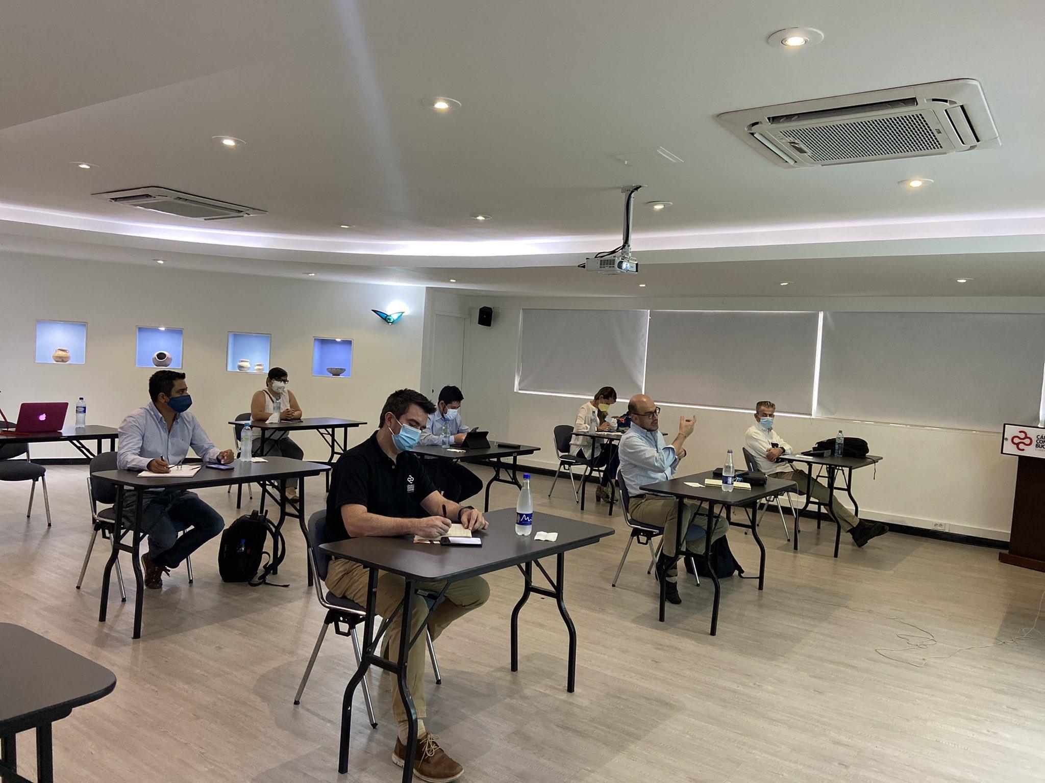 La Cámara de Comercio de Bucaramanga lideró encuentro de seguimiento a proyectos de infraestructura con la ANI