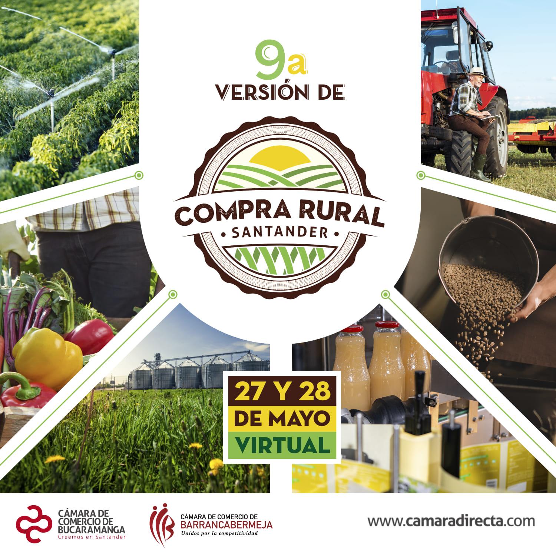 Compra Rural Santander llega a su novena versión para continuar reactivando y fortaleciendo la agroindustria de la región