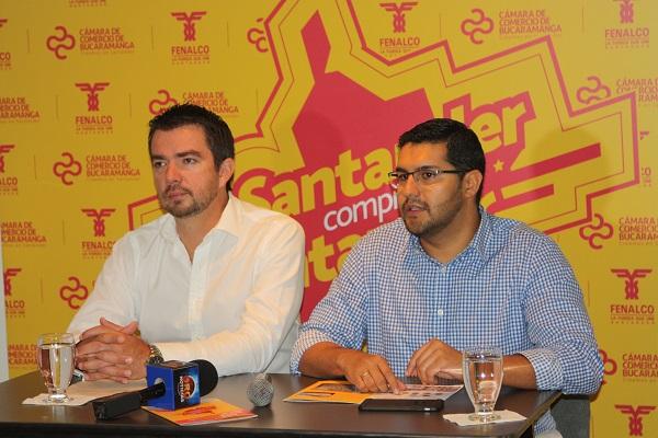 La Cámara de Comercio de Bucaramanga y FENALCO Santander, invitan a participar de la tercera versión de 'Santander Compra Santander'