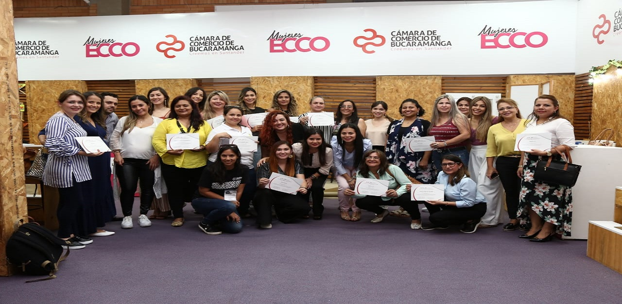 1.700 empresarias han fortalecido sus negocios con Mujeres Ecco