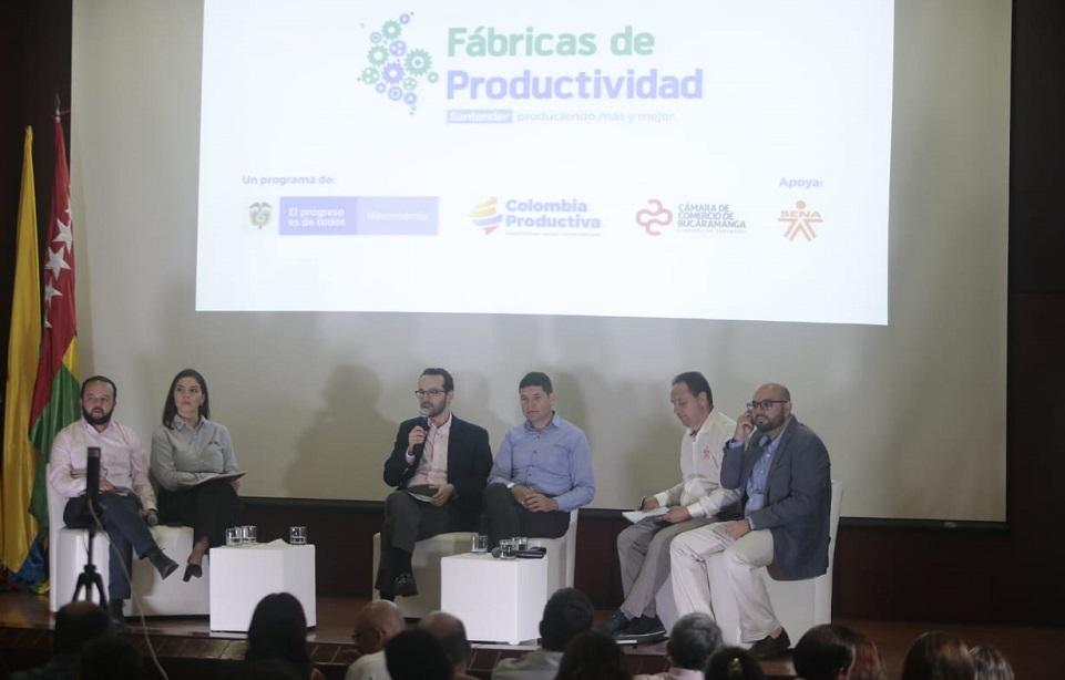 Empresas santandereanas serán beneficiadas para el mejoramiento de su productividad