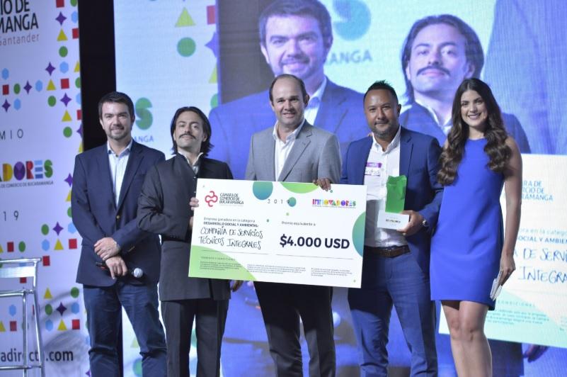Fueron premiadas las empresas más innovadoras de Santander