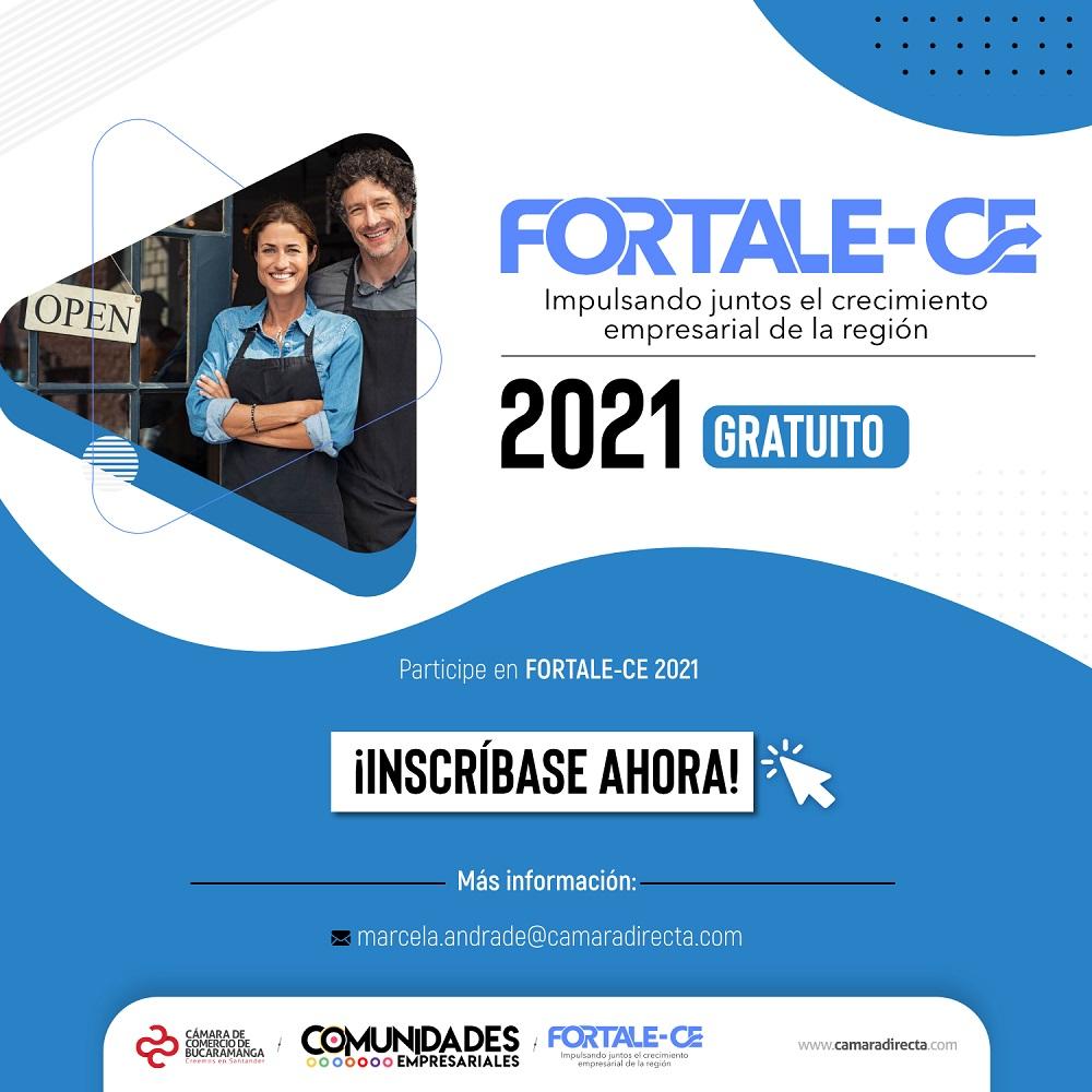 400 empresas santandereanas podrán mejorar su oferta de valor y posicionamiento comercial con el programa FORTALE-CE