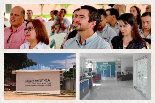 """La Cámara de Comercio de Bucaramanga inauguró en Café Madrid el Centro de Desarrollo Empresarial y Empleabilidad """"Progresa"""""""