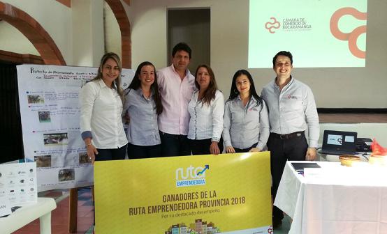 17 empresarios en Soto Norte hicieron parte de la Ruta Emprendedora de la Cámara de Comercio de Bucaramanga