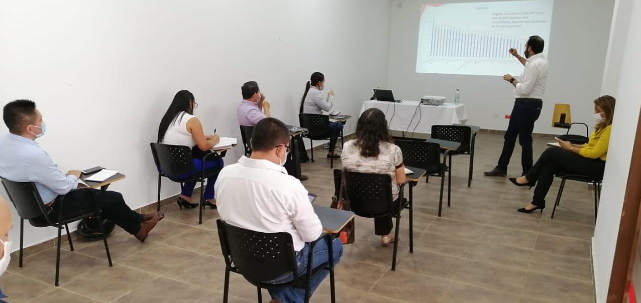 Se consolidó el plan de acción 2021 para la competitividad de las provincias Vélez, Comunera y Guanentina