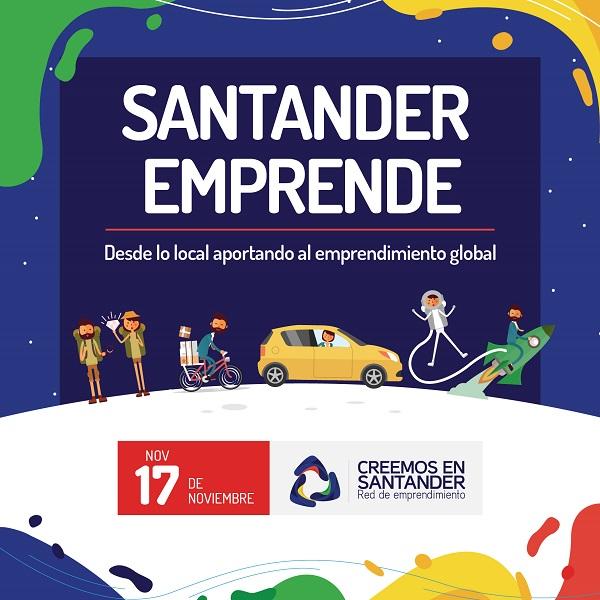 Emprendedores en Santander contarán con plataforma web que impulsará y fortalecerá sus iniciativas
