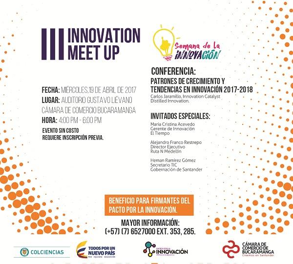 """La Semana de la Innovación desarrollará mañana el """"III Innovation Meet Up"""""""
