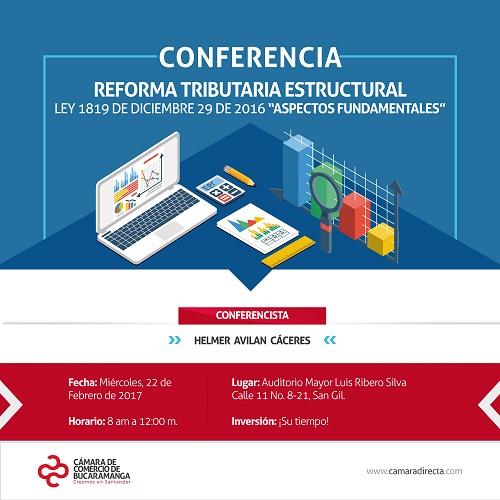 Conferencia: Reforma Tributaria Estructural