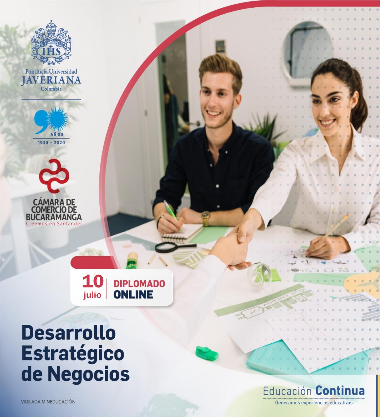 DIPLOMADO DESARROLLO ESTRATÉGICO DE NEGOCIOS