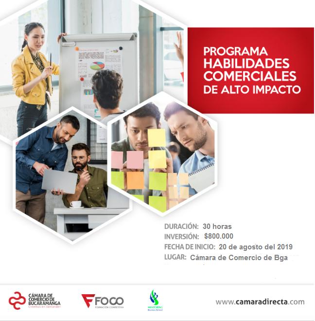 PROGRAMA ESPECIALIZADO EN HABILIDADES COMERCIALES DE ALTO IMPACTO