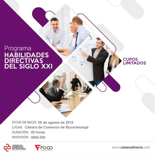 PROGRAMA ESPECIALIZADO  HABILIDADES DIRECTIVAS