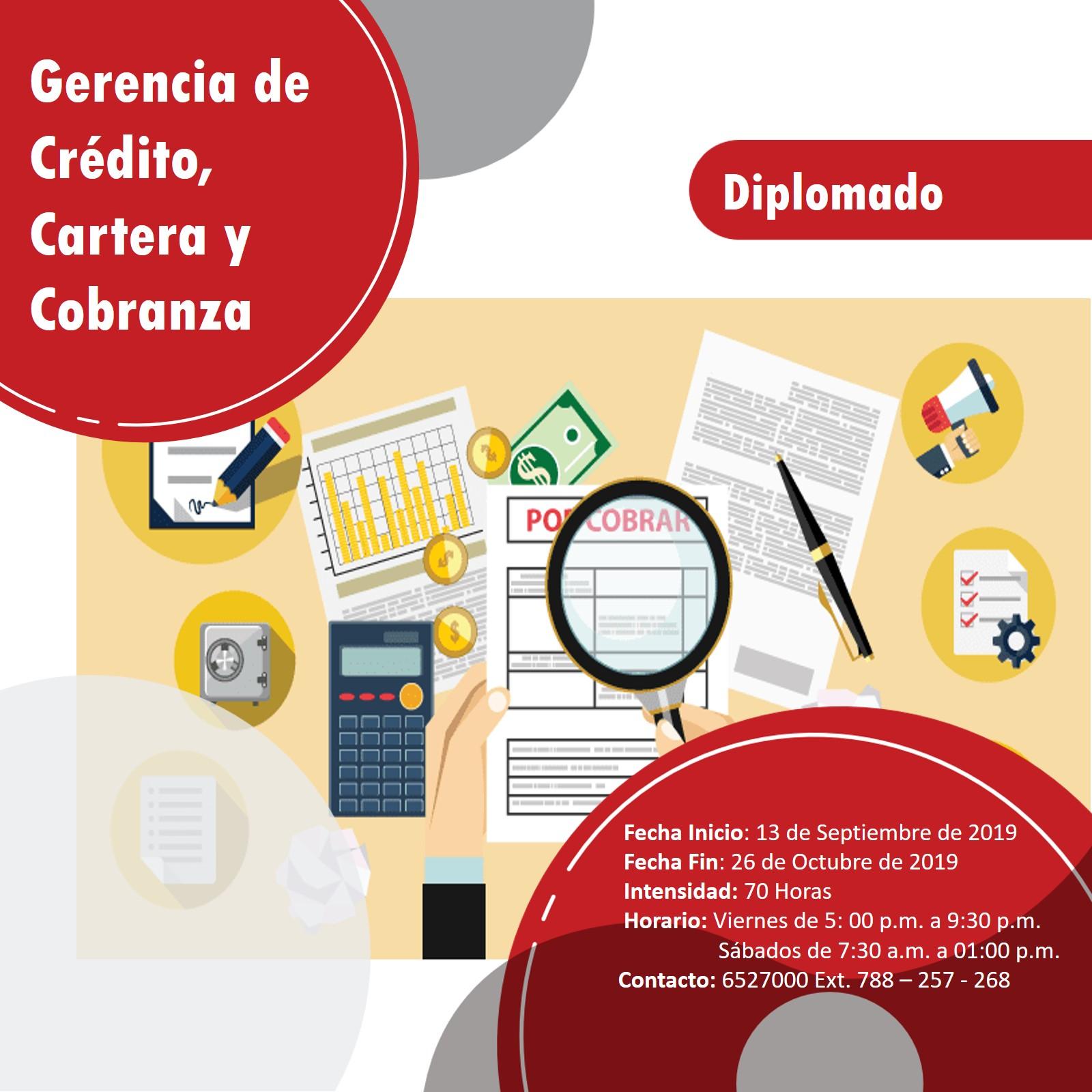 DIPLOMADO GERENCIA DE CRÉDITO, CARTERA Y COBRANZA