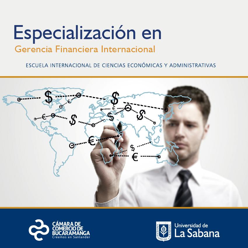 Especialización en Gerencia Financiera Internacional